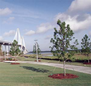 The Waterfrotn Memorial Park in Mount Pleasant, SC